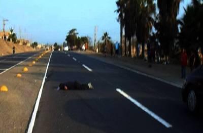 Hombre muere atropellado al cruzar la Panamericana Norte en Chancay