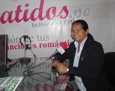 Odalis Serrati candidata a la alcaldía de Chancay