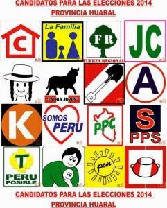 CANDIDATOS PARA LAS ELECCIONES 2014
