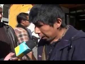 Padre de familia pide ayuda a Municipalidad de Huaral para su esposa enferma.