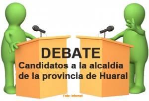 Participación de candidatos en el debate es una obligación moral y cívica
