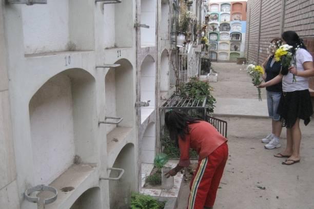 Mujer es asaltada por dos delincuentes dentro del Cementerio Los Naturales de Huaral