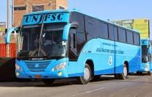 Estudiantes huaralinos viajarán sin costo alguno hasta la sede de la Faustino
