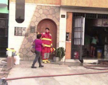 """Restaurante """" El Pez y la Parrilla"""" se incendió en horas de la mañana"""
