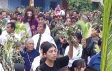 Hoy se inició la Semana Santa en Huaral con el Domingo de Ramos (VÍDEO)