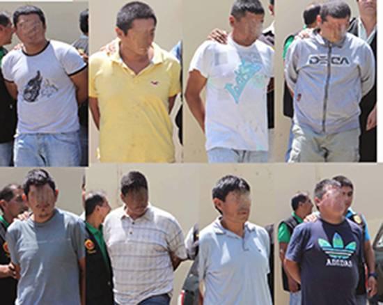 Ficalía liberó a los presuntos extorsionadores que la policía capturó en operativo.