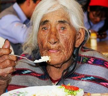A los 117 años murió Filomena Taype la mujer más longeva del país
