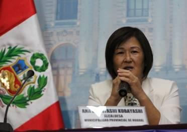 Alcaldesa Ana Kobayashi  presento en el Congreso de la República el programa por el 39° aniversario de la provincia de Huaral Huaralenlinea.com