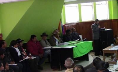 Autoridades de la Municipalidad Provincial de Huaral brillaron por su ausencia en Huayllay