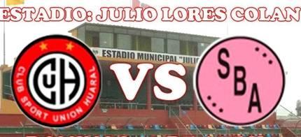 Unión Huaral vs Sport Boys  partido amistoso hoy en estadio Julio Lores C. Huaralenlinea.com