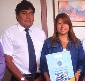 Arq. Rosa Elena  Jóvenes de la UNJFSC harán sus prácticas pre profesionales aquí en Huaral Huaralenlinea.com