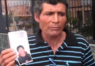 Padre denuncia extraña desaparición de su hijo en Palpa - Huaral  Huaralenlinea.com