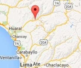 Sismo remeció Canta y Huaral Huaralenlinea.com