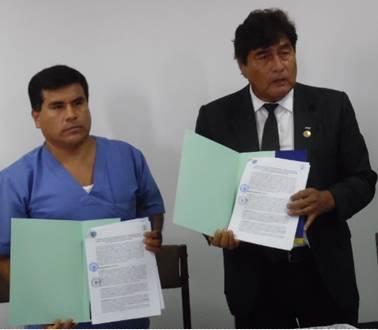 UNJFSC de Huacho suscribió convenio de prácticas con el hospital de Chancay Huaralenlinea.com