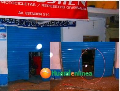 Detonan explosivos en tienda de motataxi Huaralenlinea.com.jpg ok