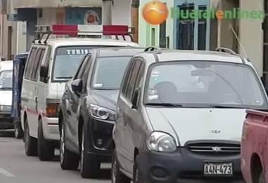 """Empresa de colectivos """"Makatón"""" toma por asalto la calle Unión Huaralenlinea.com"""