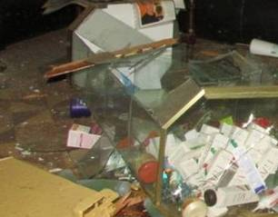 Extorsionadores arrojan explosivo a local de estética en Huacho