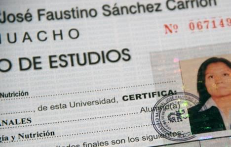 Implementan nuevos hologramas de seguridad para certificaciones en la Sánchez Carrión Huaralenlinea.com