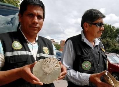 Incautan en el Cusco fósiles de moluscos y muñecas de la Cultura Chancay Huaralenlinea.com.jpg -