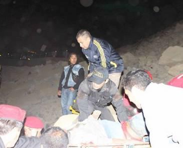 Paro cardio respiratorio acabó con la vida de joven rescatado del derrumbe en Churín Huaralenlinea.com