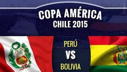 Perú vsBolivia  chocan por cuartos de final de Copa América Huaralenlinea.com