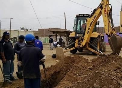 Alcaldesa de Huaral dio inicio al mejoramiento y construcción en Circunvalación Sur. Huaralenlinea.com