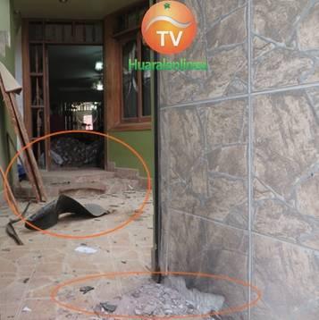 Colocan explosivos la casa del alcalde de 27 de Noviembre Huaralenlinea.com