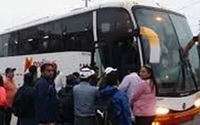 Delincuentes asaltaron a 60 pasajeros de bus interprovincial HUARALENLINEA.COM