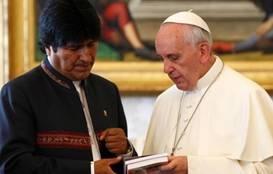 El papa Francisco llegó a Bolivia y fue recibido por Evo Morales Huaralenlinea.com
