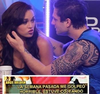 """Nicola Porcella y Angie Arizaga no van más en """"Esto es guerra"""""""