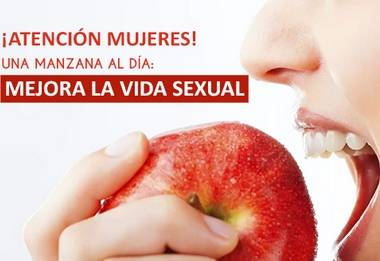 Manzanas elevan el deseo sexual de las mujeres, según estudio Huaralenlinea.com