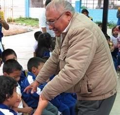 "Pedro Salguero visitó y compartió con los niños del nivel de inicial de la I.E. ""Jorge Basadre"" - Aucallama Huaralenlinea.com"