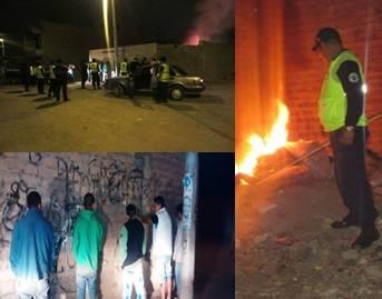 Personal de Serenazgo y Policía realizaron operativo para erradicar fumaderos Huaralenlinea.com