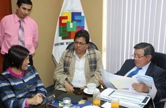 Alcaldesa Provincial presentó 3 proyectos buscando financiamiento del Gobierno Central