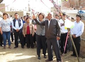Pedro Salguero inauguró la obra de apertura de caminos en San Agustín – Aucallama