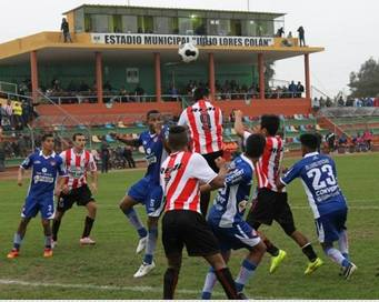 Unión Huaral perdió 0-1 con San Simón en el Julio Lores Colán Huaralenlinea.com