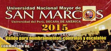 CEICS San Marcos desarrollará el 27 importante Seminario Taller para maestros de Huaral