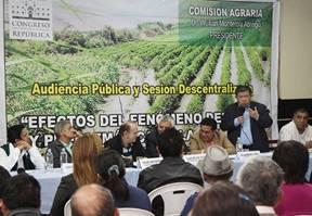 """Nelson Chui expone avances y problemas para ejecución del plan de acción frente al fenómeno """"El Niño"""" huaralenlinea.com"""