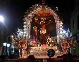 Rutas del tercer y cuarto recorrido del Señor De Los Milagros en Huaral huaralenlinea.com