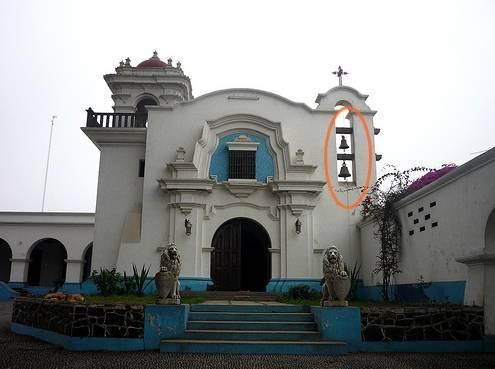 Se robaron las campanas de bronce de la capilla La Inmaculada de la ex hacienda de Huando