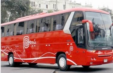 Vetan entrada del Bus Marca Perú a plaza de armas de Huaral