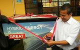 """Colegio """"Inmaculada Concepción"""" de Cuyo por fin tendrá energía eléctrica gracias a Sistema de paneles fotovoltaicos"""