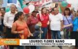 Candidata Lourdes Flores Nano estuvo de visita en Huaral