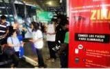 Inician campaña de prevención contra el zika en terminales terrestre