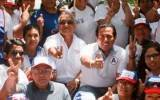 Candidato Ricardo Chavarría visitó mercado de Chancay recibiendo respaldo de muchos simpatizantes (Video)