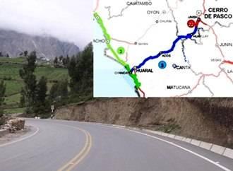 MTC declara de interés carretera Huaral – Acos – Huayllay