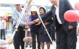 Colocación de primera piedra en I.E. Nº 20826 San Juan Bautista de Huaral (Fotos)
