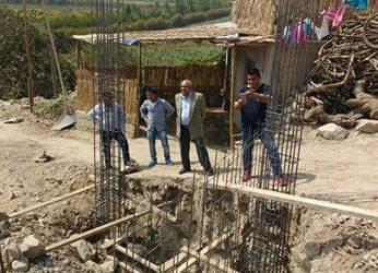 Comuna aucallamina inició construcción de local para PRONOEI en el AA.HH. Cruz Blanca – Matucana, Sector Palpa