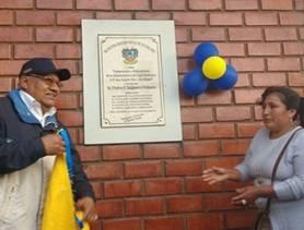 Pedro Salguero inauguró nuevo local multiusos en el AA.HH. San Juan De Dios – Aucallama