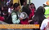 Escandalosa gresca entre 2 alumnas del colegio el Carmen en plena Plaza de Armas de Huaral